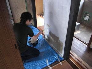 (株)クラスプラスの塗装実習