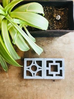 ミニチュア100角の花ブロック