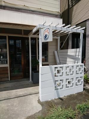 塗装した沖縄花ブロック(花形ブロック)
